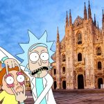Rick And Morty si schiantano a Milano